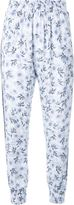 Mother of Pearl floral print trousers