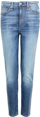 Rag & Bone Nina Blue Coated Skinny Jeans