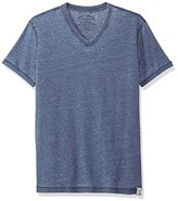 Lucky Brand Men's Burnout Vneck Tee