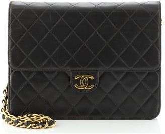 Chanel Clutch with Chain Quilted Leather Small
