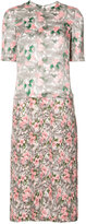 Julien David floral print dress - women - Silk/Cotton - XS