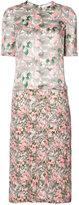 Julien David floral print dress