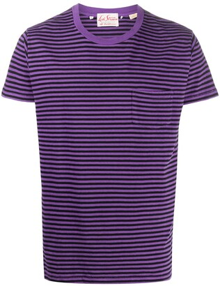 Levi's Made & Crafted Stripe T-Shirt With Patch Pocket