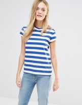 MiH Jeans Range Stripe T-Shirt