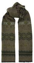 Valentino Tonal Wool-blend Scarf