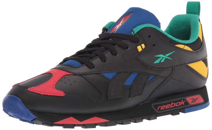 casete Conjugado Violeta  Reebok Red Leather Men's Shoes | Shop the world's largest collection of  fashion | ShopStyle