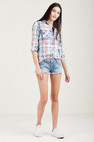 True Religion Joey Cut Off Womens Short