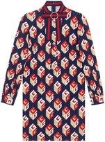 Gucci GG Wallpaper print dress - women - Spandex/Elastane/Viscose - XS