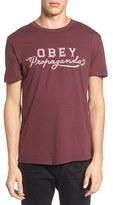 Obey Men's Apocalypse Script Superior T-Shirt