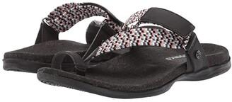 Spenco Island Slide (Black) Women's Sandals