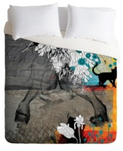 Deny Designs Iveta Abolina Stay Awhile Twin Duvet Set Bedding