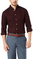 Dockers Portuguese Flannel Shirt, Pinot Red Heather