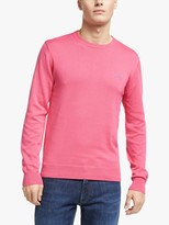 Gant Classic Cotton Crew Neck Jumper