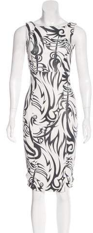 Thomas Wylde Leather Knee-Length Dress w/ Tags