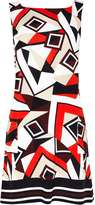 Stripe Printed Tunic Dress