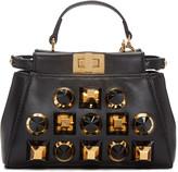 Fendi Black Micro Peekaboo Bag