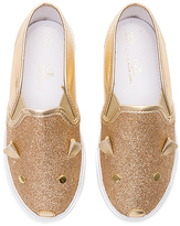 Marc Jacobs Glitter Slip On in Metallic Gold. - size 27 (4yrs) (also in )