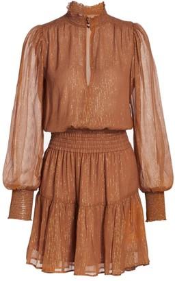 A.L.C. Silvie Smocked Mini Dress