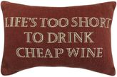 """B. Smith The Vintage House by Park Life N Wine"""" Tapestry Oblong Throw Pillow"""