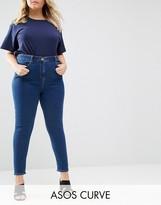 Asos Ridley Skinny Jean in Kelsey Flat Blue Wash