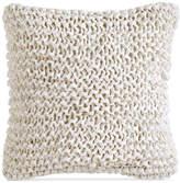 "DKNY City Pleat White 14"" x 14"" Decorative Pillow"