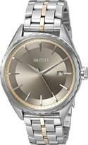 Nixon Women's A9342215-00 Minx Analog Display Japanese Quartz Silver Watch