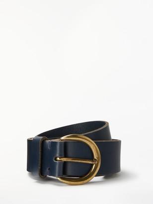 John Lewis & Partners Julia Leather Jeans Belt