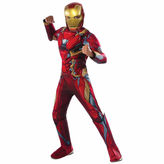 Marvel Captain America Civil War Iron Man Muscle Chest 3-pc. Dress Up Costume