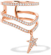 Diane Kordas 18-karat Rose Gold Diamond Ring - 6