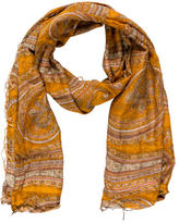 Dries Van Noten Paisley Printed Woven Scarf
