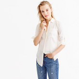 J.Crew Silk pocket blouse