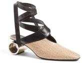 J.W.Anderson Women's Cylinder Heel Ballet Pump