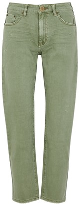 One Teaspoon Oneteaspoon Awesome Baggies Sage Straight-leg Jeans