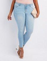 Charlotte Russe Plus Size Refuge Skin Tight Legging Jeans