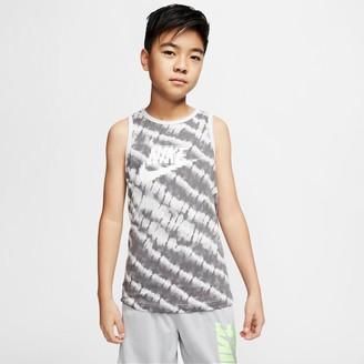 Nike Boys' Sportswear Tie-Dye Tank