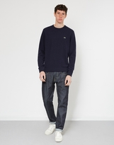 Lacoste Crew Neck Sweater Navy