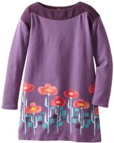 Tea Collection Girls 7-16 Floral Border Graphic Dress