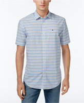 Tommy Hilfiger Men's Cecil Striped Short-Sleeve Shirt
