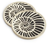 L'OBJET 4-Piece Shell Coasters