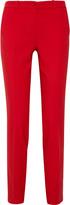 Samantha stretch wool-blend pants
