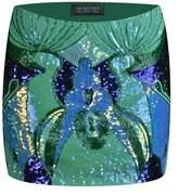 The Nude Face Makwa Hand Beaded Mini Skirt.