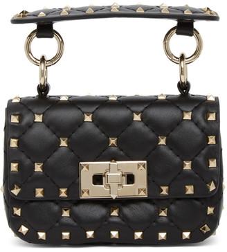 Valentino Black Garavani Micro Rockstud Spike Bag