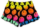 Flowers by Zoe Girls' Smiley Ruffle Shorts - Big Kid
