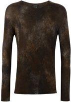 Avant Toi tie-dye jumper - men - Silk/Cashmere - L