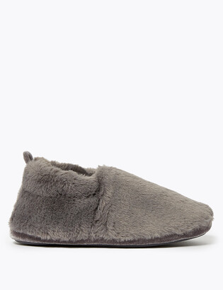 Marks and Spencer Faux Fur Slipper Boots
