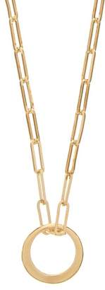 Isabel Marant Ring Pendant Necklace - Womens - Gold