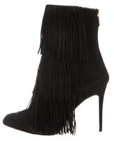 Paul Andrew Suede Fringe Boots
