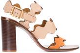 Chloé Lauren sandals - women - Leather - 36