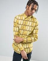 Love Moschino Gold Kilo Printed Shirt