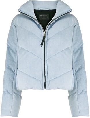 AllSaints Padded Zip-Up Jacket